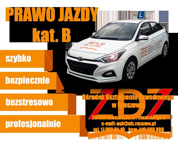 Prawo jazdy ZDZ Rzeszów