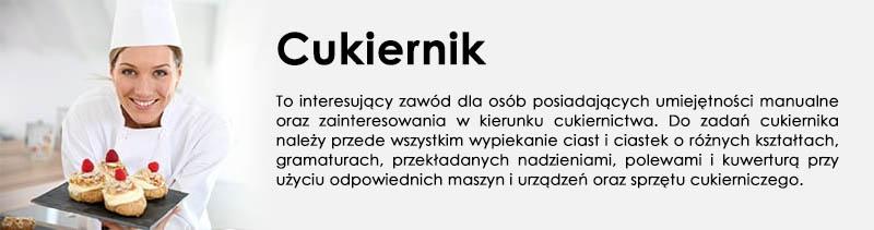 Kierunek - Cukiernik